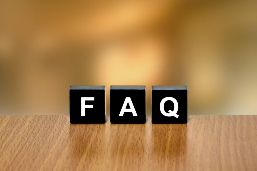 FAQ or Frequently asked questions on black block