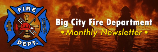 Big City Fire Department banner