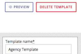 Preview your templates in the Advanced Bulletin Templates