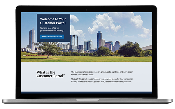 Granicus govService Customer Service Hub