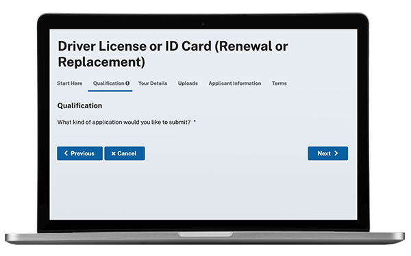 Granicus govService Licensing Applications