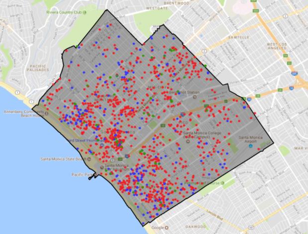Host Compliance Map